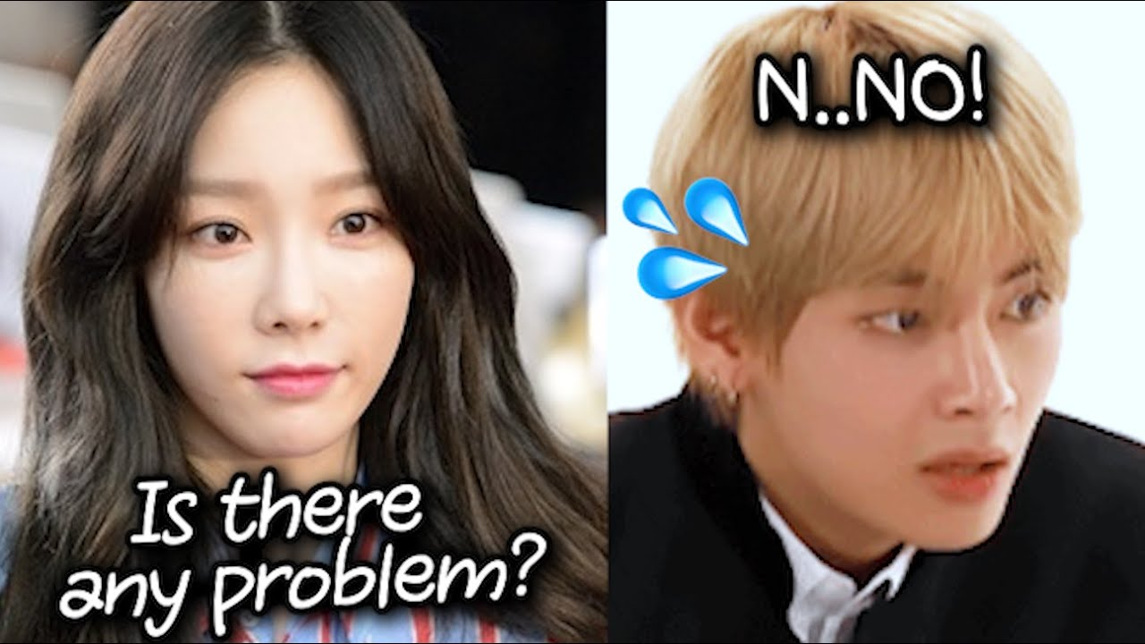 Why BTS Taehyung Suffered while Sitting Next to Girl Group..?