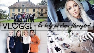En helg på Aspa Herrgård  | VLOGG thumbnail