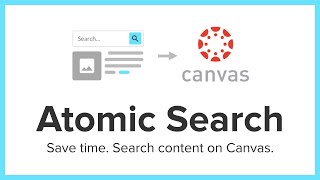 Atomic Search for Canvas