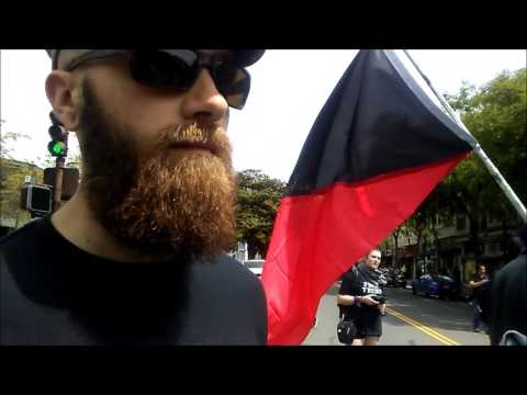 #Antifa #SJWs Block Traffic And Chant Dumb Shit #Berkeley