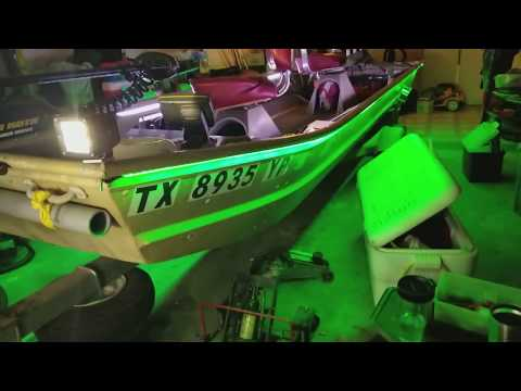 Fully Loaded Customized 14ft Jon Boat