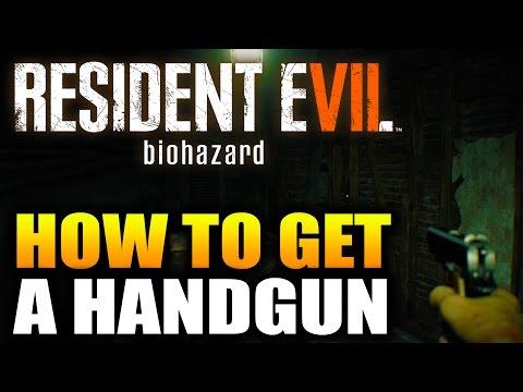 Resident Evil 7 Gun Location - Resident Evil 7 How To Get The Gun