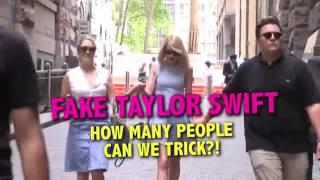 Taylor Swift LookALike PRANK