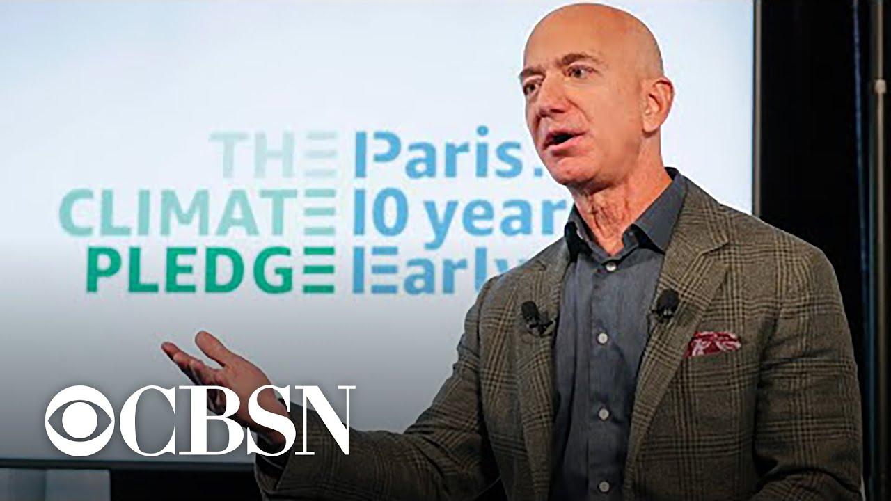 Amazon's Jeff Bezos pledges $10 billion to battle climate change