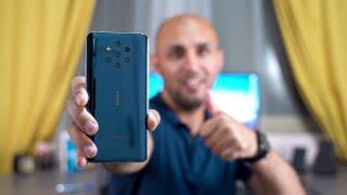 فتح صندوق هاتف Nokia 9 pureview