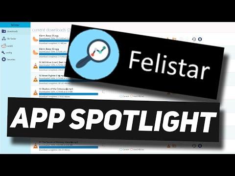 Open Directory Downloader Tool! - Felistar App Spotlight - A Sort-Of WGET GUI