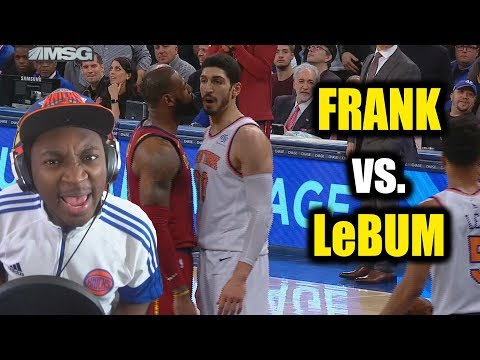FRANK NTILIKINA RIPS LeBUM JAMES!!! KNICKS BLOW HUGE LEAD TO CAVS!! KANTER THROWING HANDS!!