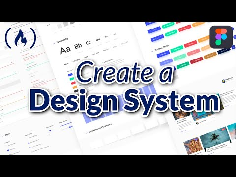 Create a Design System with Figma - Full Course