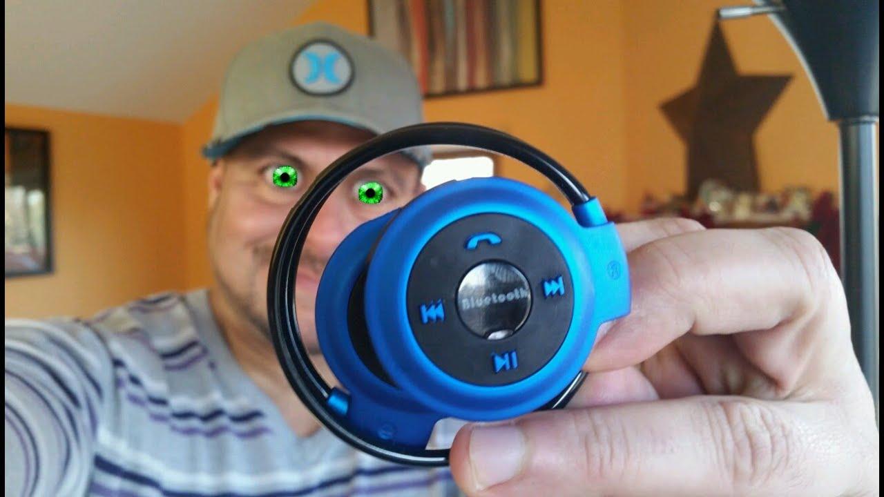 bluetooth wireless headphones mini 503 8 hrs battery life youtube. Black Bedroom Furniture Sets. Home Design Ideas