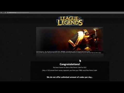 April 2017 League of Legends RP Hack!