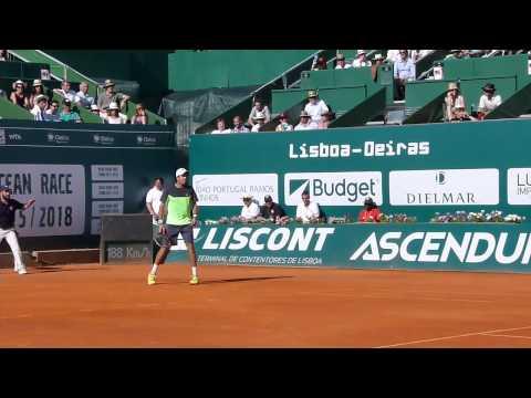 Championship Point - Carlos Berlocq @ Portugal Open 2014