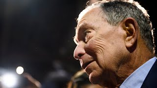 Democratic presidential candidate Michael Bloomberg speaks about his candidacy