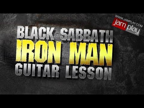 Guitar Less  Ir Man  Black Sabbath