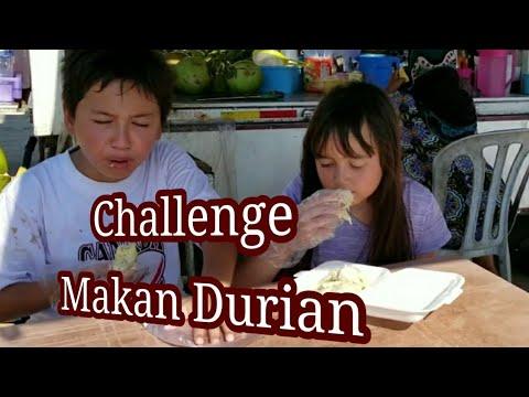 Anak Blesteran Makan Durian Challenge