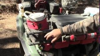 PVC ATV Rack