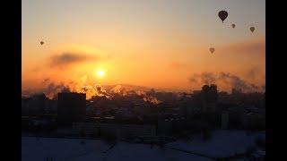 Гонка воздушных шаров в Нижнем Новгороде