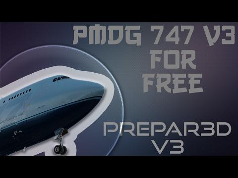 P3D V3/V4) HOW TO GET PMDG 747 V3 FOR FREE - YouTube