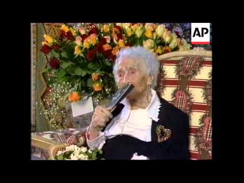 FRANCE: WOMAN BELIEVED TO BE WORLD'S OLDEST PERSON DIES AGE 122