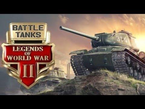 Battle Tanks: Legends Of World War II ★ GamePlay ★ Ultra Settings