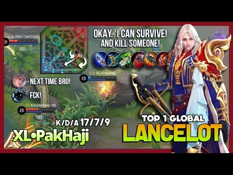Royal Matador King of Invincible Skills by XL•PakHaji aka вeѕттacтιc Top 1 Global Lancelot ~ MLBB