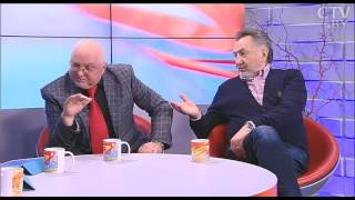 Анатолий Ярмоленко и Валерий Иванов в программе «УТРО» на СТВ