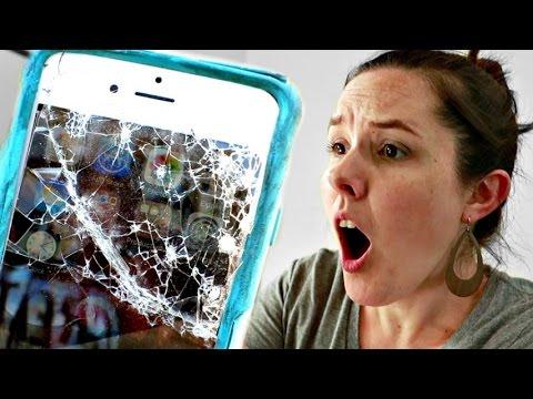 SMASHED iPhone!!!!