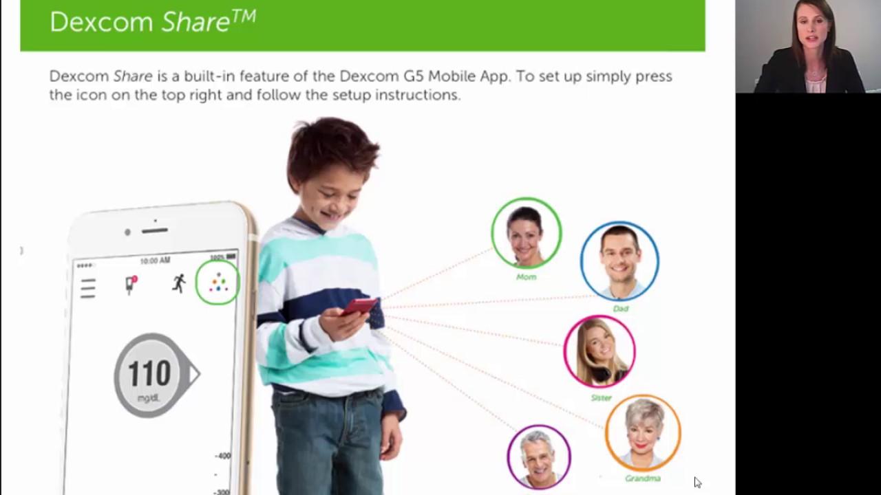 Dexcom Training Webinar: Setting Up Dexcom Apps - YouTube
