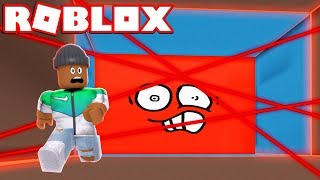 DON'T GET SLICED BY THE SPEEDING LASER WALL IN ROBLOX