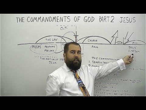 The Commandments of God Part 2 Jesus