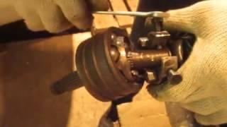 съемник шруса (замена гранаты)