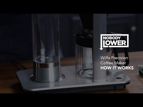 Wilfa Precision Coffee Maker in Action - HOW IT WORKS