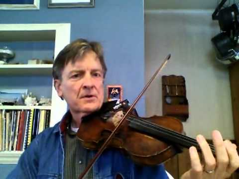 Fiddle Lessons by Randy: Beginner Tune1, Britches Full Of Stitiches Fiddle and Guitar Faster tempo