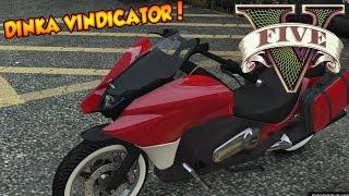 GTA V - Tunando A Dinka Vindicator! Moto com Sistema KERS! DLC Dinheiro Sujo Parte 2!