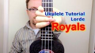 royals lorde ukulele tutorial