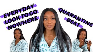 MY EVERYDAY MAKEUP ROUTINE | QUARANTINE BEAT QUICK TUT | JEWEL SHANITA