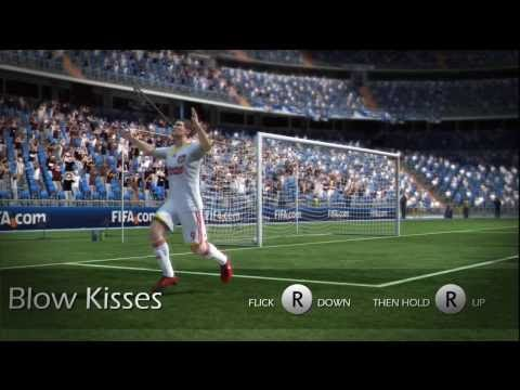 Fifa 12 /11 - New Running Celebrations Tutorial (PS3)