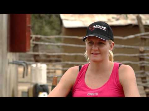 Two-time Olympic champion Kirsty Coventry visits Arena-sponsored AMREF projects in Kenya