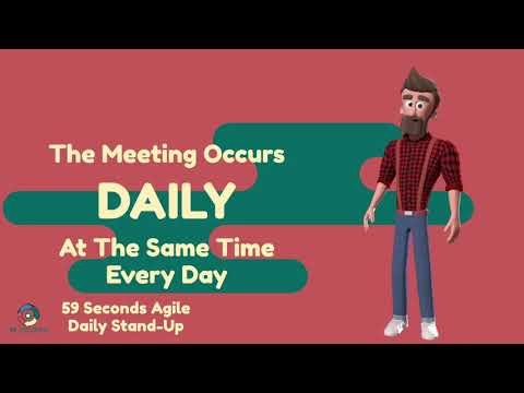 The Agile Daily Stand Up with 59 Seconds Agile