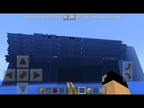MCPE 1 2 How To Make Realistic Tsunami | Command Block Creation