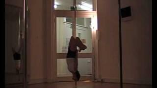 pole dance lessons, Soul-POLE Aberdeen Intermediate routine