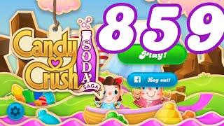 Candy Crush Soda Saga Level 859 No Boosters