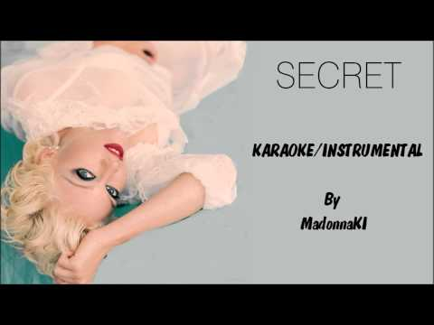 Madonna - Secret Karaoke / Instrumental with lyrics on screen