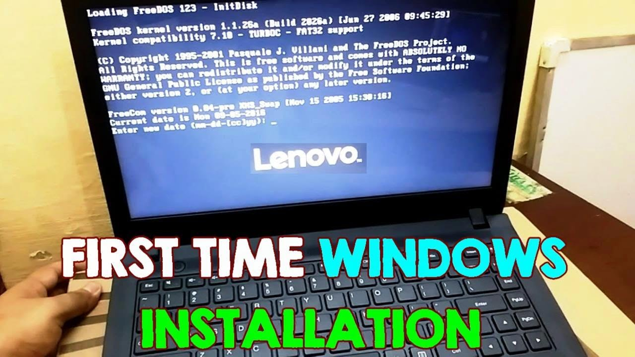 How To Install Windows On A Computer Without Operating System