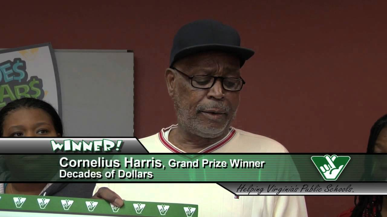 Norfolk man is Virginia's first Decades of Dollars top-prize winner