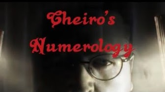 Numerology - Cheiro's Method