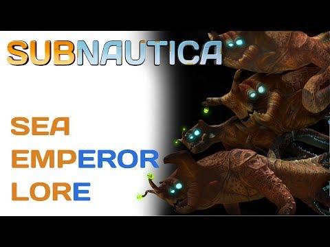 Subnautica Lore: Sea Emperor Leviathan | Video Game Lore