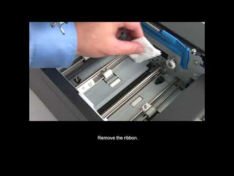 Zebra ZC10L ID Card Printer - How to Clean Your Printer