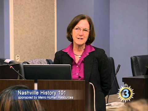 Nashville History 101