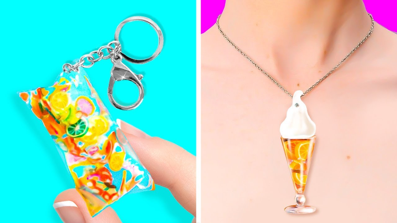 Beautiful Accessories Made Out Of Epoxy Resin || DIY Jewelry Ideas by 5-Minute DECOR!