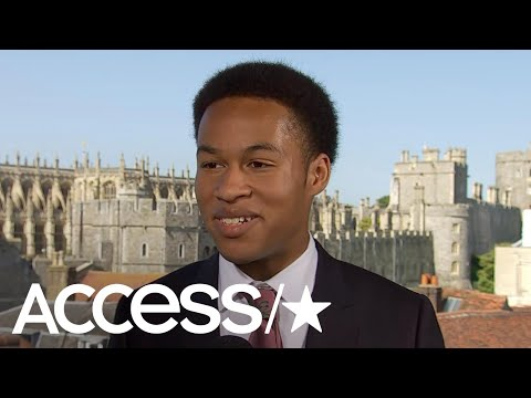 Royal Wedding Cellist Sheku KannehMason On How HandsOn Prince Harry Was With The Music  Access